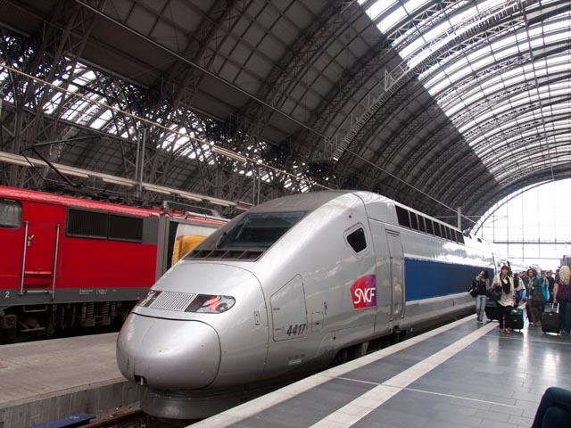 TGVとお別れ。
