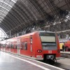 DBの列車はみな赤い。