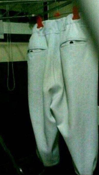 不気味なズボン