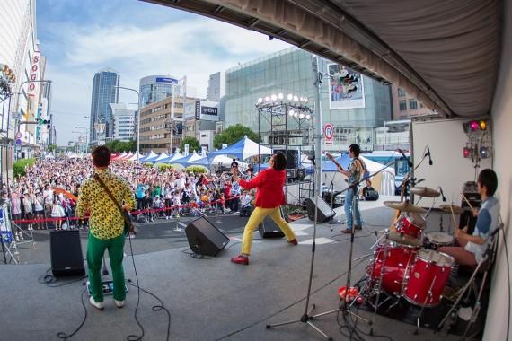 ワタナベフラワー 神戸まつり2015