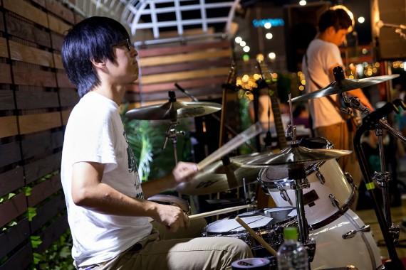 汗かきドラム