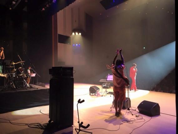 大田市民会館ステージ