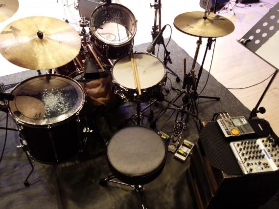 ドラムセッティング