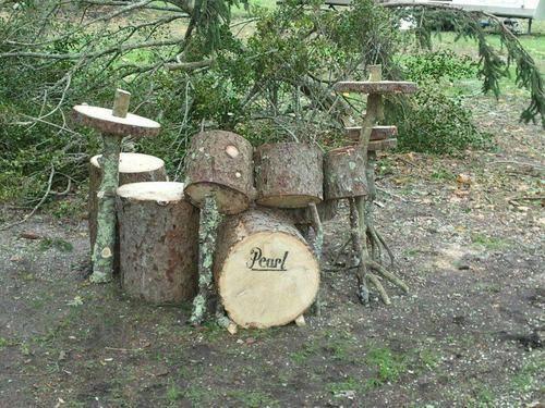 大自然ドラム