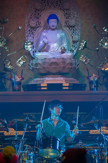 ラピスホールの仏像と僕