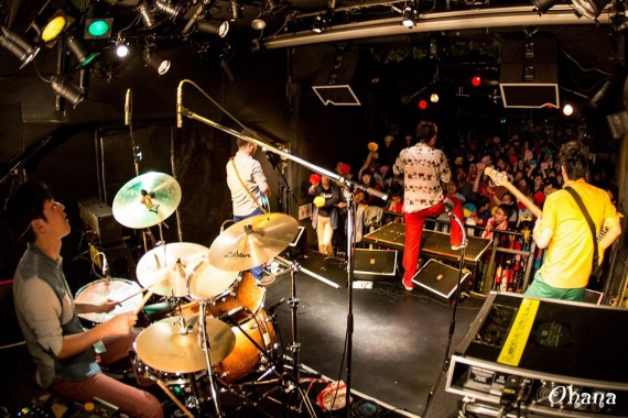 ワタフラ@太陽と虎 ライブ ドラムという名の要塞