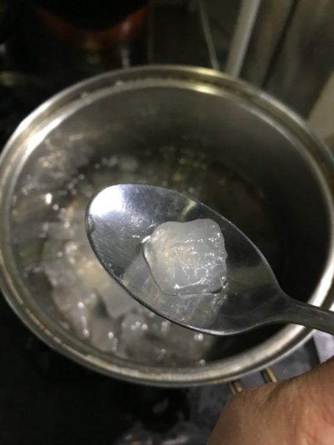 アロエベラを煮詰めた
