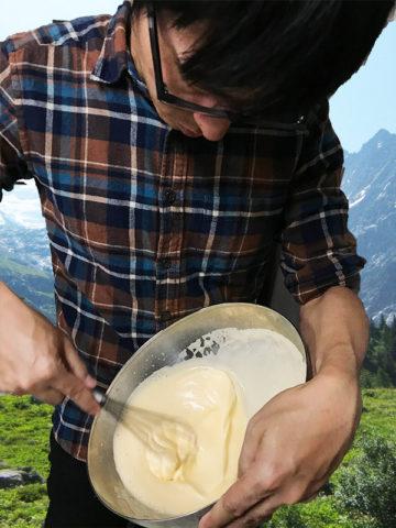 スポンジケーキを作る
