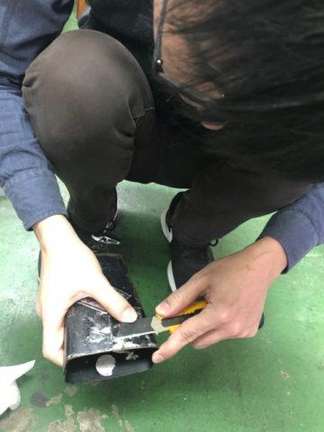 ワタナベフラワー カウベル修理